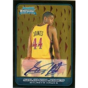 2006-07 Bowman Chrome Solomon Jones Autograph Rookie