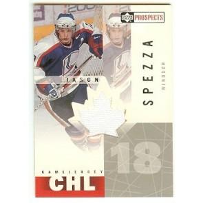2001-02 Upper Deck Prospects Jason Spezza CHL Game Jersey