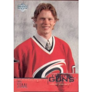 2002-03 Upper Deck Eric Staal Young Guns Rookie