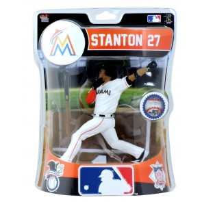 "2017 MLB Premium Sports Artifacts - GIANCARLO STANTON - 6"" FIGURE MARLINS"