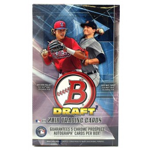 2018 Bowman Draft Baseball Hobby Super Jumbo Box - 5 Autographs