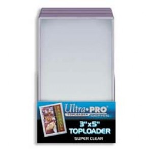 Ultra Pro 3x5 TallBoy Top Loaders 25 Count Pack (5 Lot)