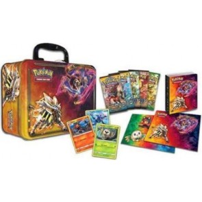 Sun and Moon Collector Chest Tin 2017 - Pokemon TCG LUNCH BOX
