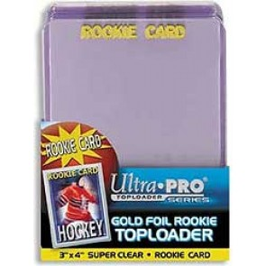Ultra Pro 3x4 Rookie Premium Top Loaders 25 Count Pack (5 Lot)
