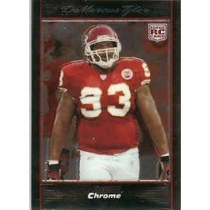 2007 Bowman Chrome DeMarcus Tyler Rookie