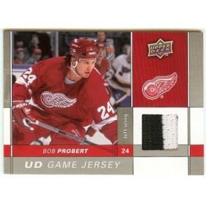 2009-10 Upper Deck Bob Probert UD Game Jersey 2 color