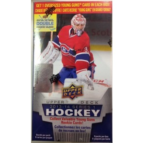 2013-14 Upper Deck Series 1 Blaster Box