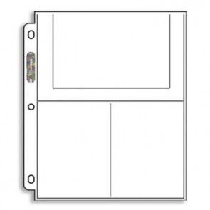 """Ultra Pro Pages 3 Pocket - 4"""" x 6"""" 100 Pack"""