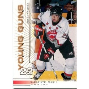 2000-01 Upper Deck Josef Vasicek Young Guns Rookie