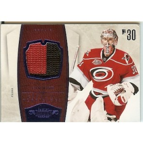 2010-11 Panini Dominion Cam Ward Prime Memorabilia 2 color Patch 13/25