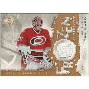 2007-08 Upper Deck Artifacts Cam Ward Authentic Jersey Swatch 293/299