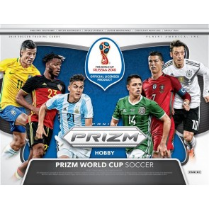 2018 Panini Prizm World Cup Soccer Hobby Box New Factory Sealed