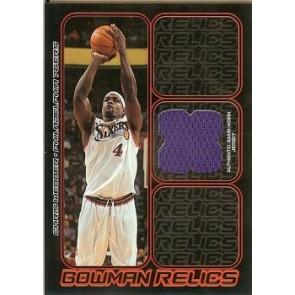 2006-07 Bowman Draft Picks & Stars Chris Webber Bowman Relics