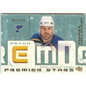 2003-04 Upper Deck Premier Doug Weight Premier Stars Memorabilia 063/100
