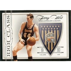 2010-11 Panini Hall of Fame Jerry West Base 172/199
