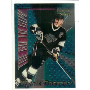 1994-95 TOPPS PREMIER THE GO TO GUY WAYNE GRETZKY Insert Card # 1 Rare LA Kings