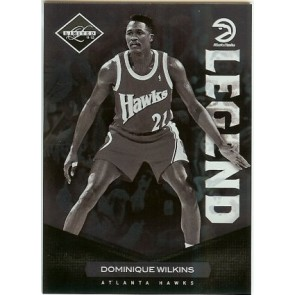 2011-12 Panini Limited Dominique Wilkins Base Single 241/299