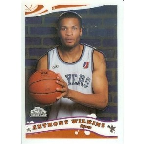 2005-06 Topps Chrome Anthony Wilkins Rookie