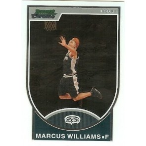 2007-08 Bowman Chrome Marcus Williams Rookie 1040/2999