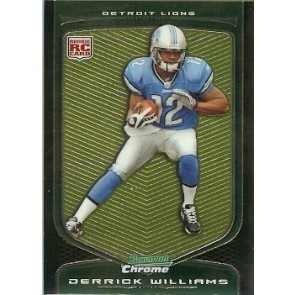 2009 Bowman Chrome Derrick Williams Rookie