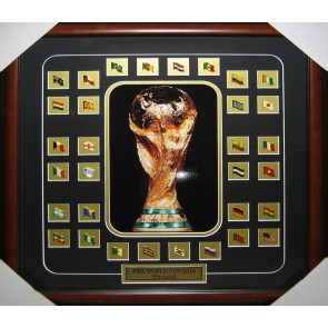 2014 World Cup Team Flags Photo Frame