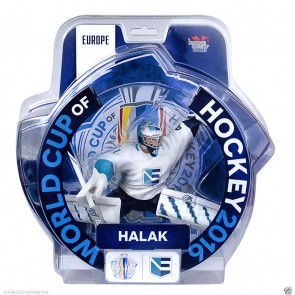 "2016 World Cup Of Hockey Jaroslav Halak Team Europe 6"" Action Figure Limited 3000"