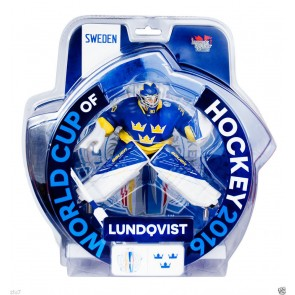 "2016 World Cup Of Hockey Henrik Lundqvist Team Sweden 6"" Action Figure Limited 3000"