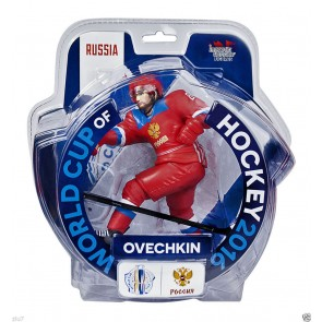 "2016 World Cup Of Hockey Alex Ovechkin Team Russia 6"" Action Figure Limited 3000"