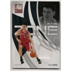 2009-10 Donruss Elite Yao Ming In The Zone Game Jersey 136/299