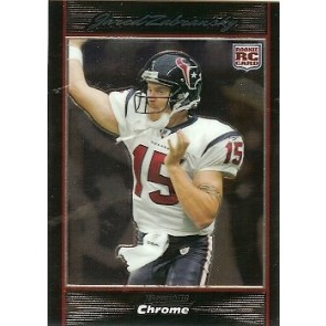 2007 Bowman Chrome Jared Zabransky Rookie